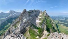 Alpstein vom Gipfel der Altenalptürme aus. (Bild: Reto Schubnell)