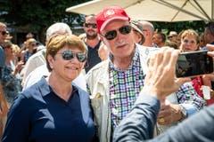 Verteidigungsministerin Viola Amherd. (Bild: Christian H. Hildebrand, Stans, 5. Juli 2019)