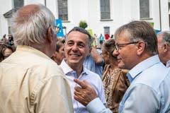 Ignazio Cassis. (Bild: Christian H. Hildebrand, Stans, 5. Juli 2019)