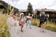 In Kanada gibt es viel zu sehen. Um die Einheimischen kennen zu lernen, sammelten wir heute verschiedene Gegenstände bei ihnen. (Bild: Jubla Hohenrain-Kleinwangen, 7. Juli 2019)