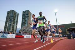 3000m Rennen der Männer. (Claudio Thoma/freshfocus)