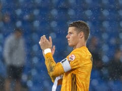 Basels Goalie Jonas Omlin will nicht wieder im Regen stehen (Bild: KEYSTONE/GEORGIOS KEFALAS)
