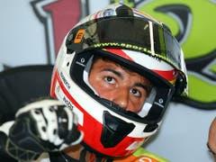 Jesko Raffin beendet das zweite MotoE-Rennen im 8. Rang (Bild: KEYSTONE/EPA/TIM KEETON)