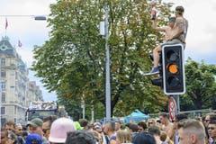 Impressionen der Street Parade. (Bild: Melanie Duchene)