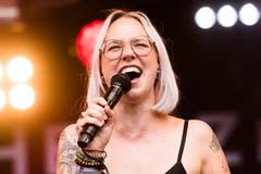 Stefanie Heinzmann. (Bild: Dominik Wunderli, Zofingen, 11. August 2019)