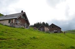 Die Alp Pfarrersnord liegt südöstlich des Kronbergs.
