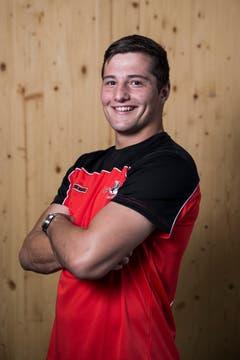 Bruno Schürpf Geburtsdatum: 22. 1. 1995Wohnort: Schwyz Beruf: Automatiker Grösse/Gewicht: 187 cm/92 kg Anzahl Kränze: 3/2
