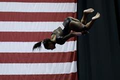 Die Rekord-Weltmeisterin sorgt für ein Novum im Kunstturnen. (Bild: Charlie Riedel)