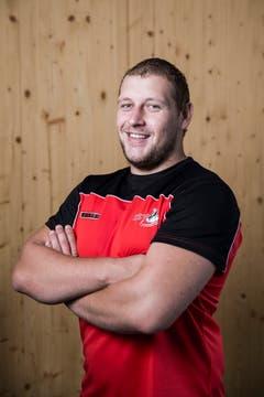Dominik Streiff Geburtsdatum: 25. 7. 1994Wohnort: Tuggen Beruf: Forstwart Grösse/Gewicht: 190 cm/110 kg Anzahl Kränze: 3/1