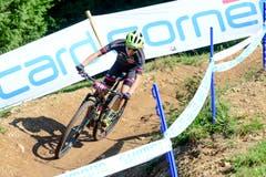 Melanie Tresch beendete in der Kategorie U23 das Rennen auf dem 34. Platz. (Bild: Roland Jauch, Lenzerheide, 11. August 2019)