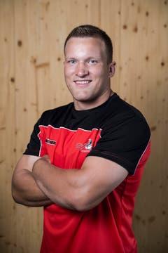 Marco Fankhauser Geburtsdatum: 8. 3. 1996Wohnort: Hasle Beruf: Plattenleger/Maurer in AusbildungGrösse/Gewicht: 183 cm/107 kg Anzahl Kränze: 15/2