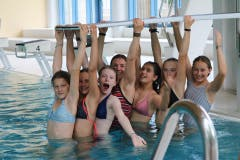 Hallenbad-Fun! (Lagerbild: Blauring Sempach, Gruppe Coviya, 12. Juli 2019)
