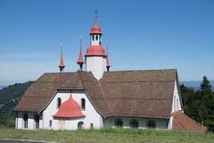 Ein Marienheiligtum der Zentralschweiz: die Wallfahrtskirche «Unserer Lieben Frau» in Hergiswald bei Luzern. (Bild: Nadia Schärli, Obernau, 9. August 2019)