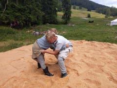 Auch bei den Kleinsten der Jungwacht Altdorf ging es «ruuch» zu und her. (Lagerbild: Ftan, 9. Juli 2019)