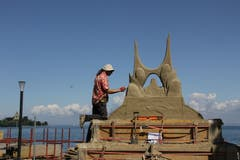 Die Skulpturen nehmen langsam Form an. (Bild: Sheila Eggmann)