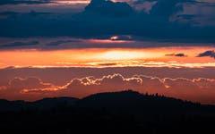 Wolken in Pastellfarben. (Bild: Luciano Pau)