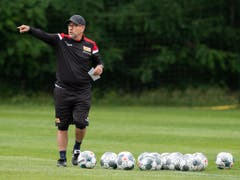 Für Urs Fischer ändert sich als Trainer in der Bundesliga nicht allzu viel (Bild: KEYSTONE/DPA/SOEREN STACHE)