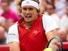 Alexander Zverev (ATP 6) gilt derzeit als der erste Herausforderer von Roger Federer (ATP 3) (Bild: KEYSTONE/EPA/VALERIE BLUM)