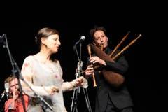 Zum Eröffnungskonzert gehörten auch Dudelsack-Klänge. (Bild: Urs Hanhart)