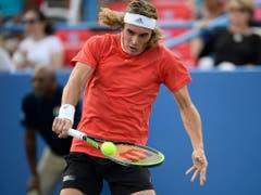 Aber auch der Grieche Stefanos Tsitsipas (ATP 7) hat Roger Federer heuer (in Australien) schon besiegt (Bild: KEYSTONE/FR67404 AP/NICK WASS)