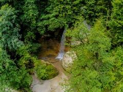 Wasserfall in der Äulischlucht in Lichtensteig. (Bild: Renato Maciariello)