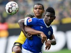 Manuel Akanji und Neo-Gladbacher Breel Embolo dürften sich auch in dieser Saison wieder duellieren (Bild: KEYSTONE/AP/MARTIN MEISSNER)