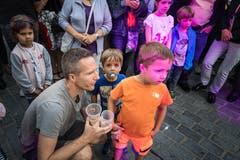 Das St.Galler Fest will wieder vermehrt zum Anlass für die ganze Familie werden. (Bild: Michel Canonica - 16. August 2019)