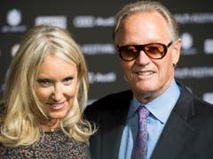 Peter Fonda bei seinem Besuch am Zürich Film Festival im Jahr 2014. (Bild: KEYSTONE/ENNIO LEANZA)