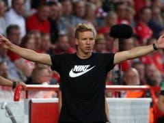 Für Julian Nagelsmann war es ein erfolgreicher Einstand mit Leipzig in der Bundesliga (Bild: KEYSTONE/EPA/HAYOUNG JEON)