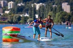 Hier kommt es zu einem Kopf-an-Kopf-Rennen. (Bild: Philipp Schmidli, Luzern, 18. August 2019)