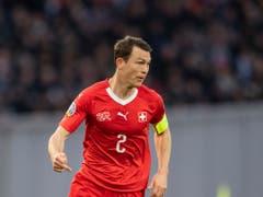 Stephan Lichtsteiner war während Jahren Captain des Schweizer Nationalteams (Bild: KEYSTONE/ENNIO LEANZA)