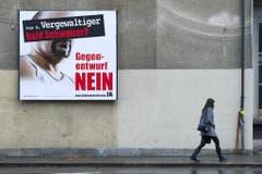 2010 sorgte dieses Plakat für rote Köpfe. (Bild: KEY)