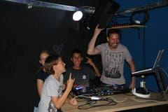 Jugendarbeiter Jeremias Frei ist hobbymässig DJ. (Bilder: Laura Manser)