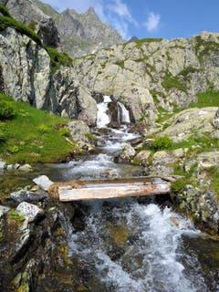 Unterwegs auf der Intschialp. (Bild: Priska Briker-Herger)