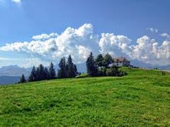 Gäbris: Wolken über dem Alpstein. (Bild: Toni Sieber)