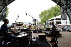 Soundcheck auf der Summerdays-Bühne. (Bild: Donato Caspari)