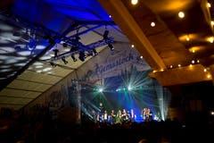 Heimweh-Konzert im Festzelt Gemsstock. (Bild: Maria Schmid, Zug, 23. August 2019 )