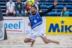 Mit dem Kopf wird der Ball gespielt (Bild: Nadia Schärli, Kriens, 23. August 2019)