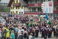 Viele Leute waren vor Ort. (Bild: Pius Amrein, Sörenberg, 27. August 2019)