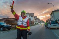 ... Verkehrsdienst enorm wichtig. So kann man ohne Verkehr ... (Bild: Michel Canonica, 2016)
