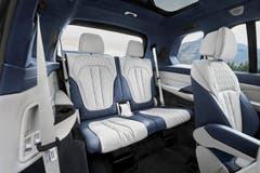 Den X7 gibts als Sechs- oder Siebenplätzer. Bild: zvg
