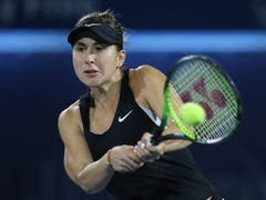 Belinda Bencic startete stark ins Turnier von Toronto (Bild: KEYSTONE/AP/KAMRAN JEBREILI)