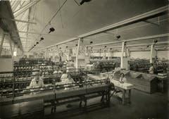 Die Viscosuisse AG stellte in Emmenbrücke Kunstgarn her. Die Firma und ihre Angestellten haben im 20. Jahrhundert die Gemeinde Emmen stark geprägt. Im Bild sieht man Fabrikarbeiterinnen um 1930. (Bilder: PD/Archiv Stiftung Viscosuisse)