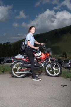 Andrea (16) aus Lichtensteig SG. (Bild: Benjamin Manser)