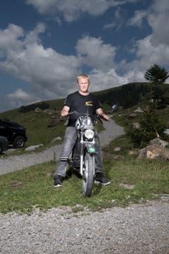Jean-Pierre (17) aus Lichtensteig SG. (Bild: Benjamin Manser)