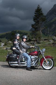 Roswitha (71) und Bernd (75) aus Uhldingen Mühlhofen in Deutschland. (Bild: Benjamin Manser)