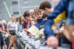 Sprint OL Schweizermeisterschaften. (Bild: Nadia Schärli, Stans, 1. September 2019)