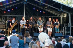 Im Bild: Musikschule Zug presents talents. (Bild: Stefan Kaiser, 30. August 2019)