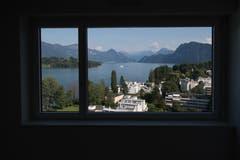 Was für eine Aussicht! (Bild: Boris Bürgisser, Luzern, 29. August 2019)