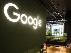 Google Schweiz feiert an der Europaallee in Zürich seinen 15. Geburtstag in der Schweiz. (Bild: KEYSTONE/ENNIO LEANZA)